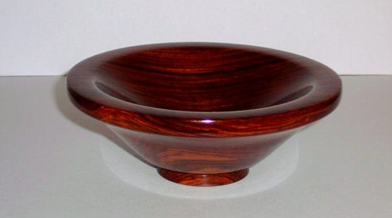 Wood Bowl- Cocobolo Wood (sn.011)