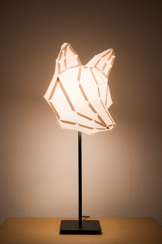 Fox medium do it yourself paper lamp shade - Diy lamp shade ...