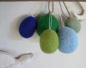 Summer 5 Felted Ornaments & Masking Tape Bunting Room Decor