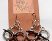 The Fellowship of the Ring Chain Maille Earrings