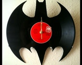 Batman Vinyl Clock