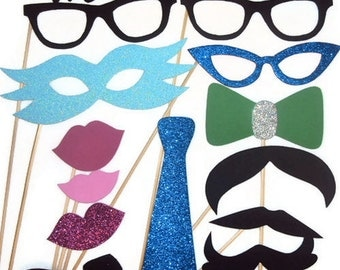 Wedding Photo Booth / Photo Booth Props / Wedding Accessories/ Photobooth
