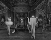 "DOMINIC ROUSE - 'Tea Dance' - Fine Art Photography Black and White Print 10"" x 8"""