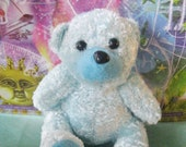 "Herbal Dream Pillow ""Dream Buddy""  Blue Teddy Bear for Children - Natural Sleep Solution"