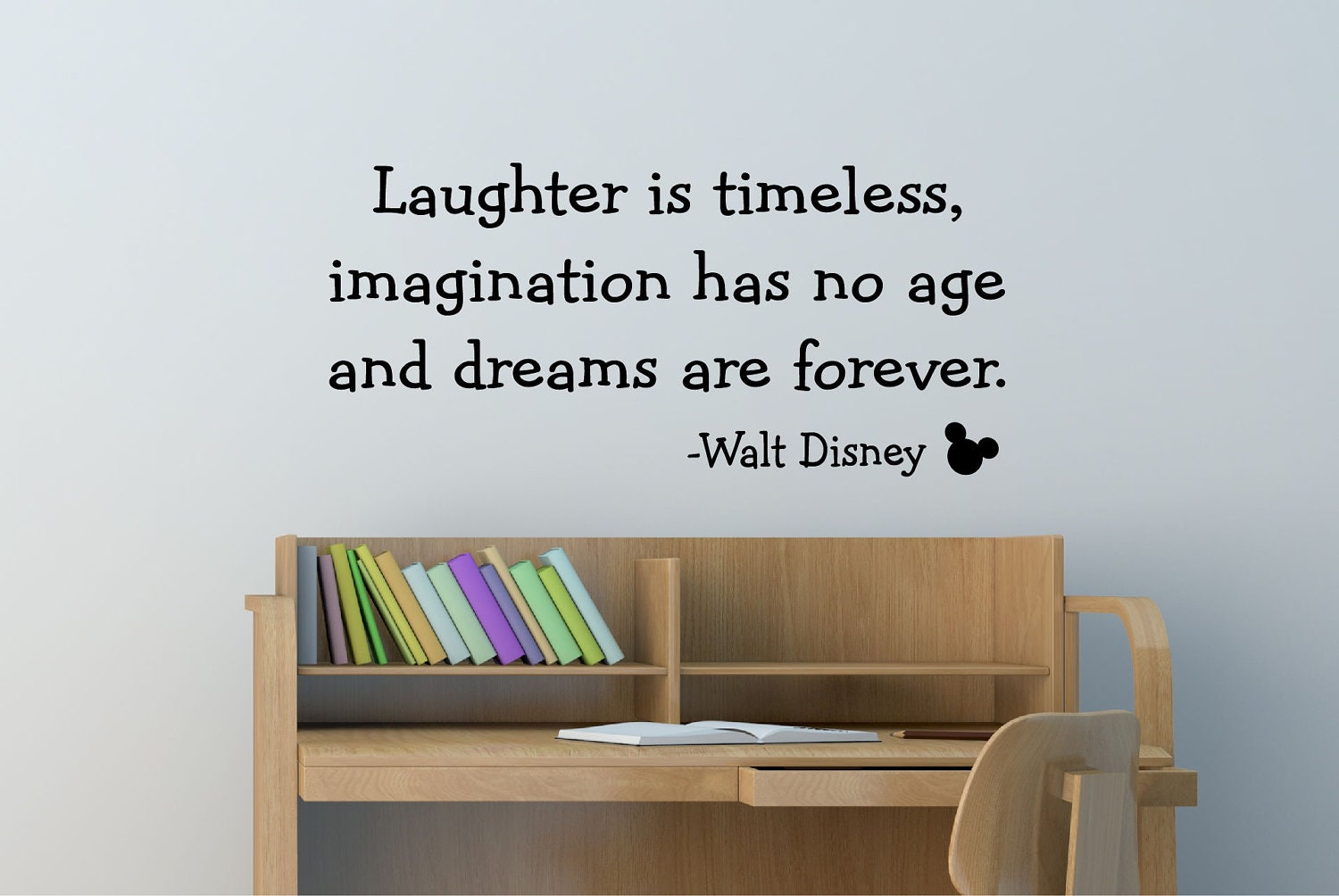 Disney wall decals quotes etsy color the walls of your house disney wall decals quotes etsy walt disney quote decal vinyl decal wall decal wall amipublicfo Choice Image