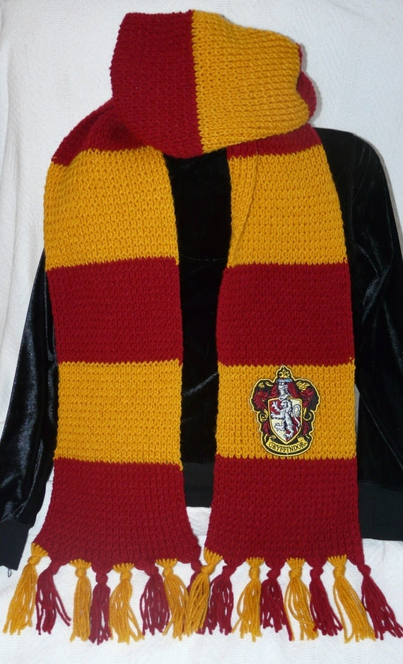 Knitting Pattern For Gryffindor Scarf : Unavailable Listing on Etsy