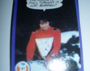 70s Collectible Trading Cards ROBIN WILLIAMS TV Alien Mork & Mindy