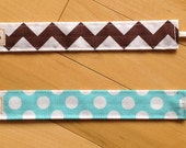 Pacifier Clip - You Choose the Pattern - Made to Order