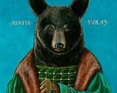 Renaissance Bear Portrait fine art print