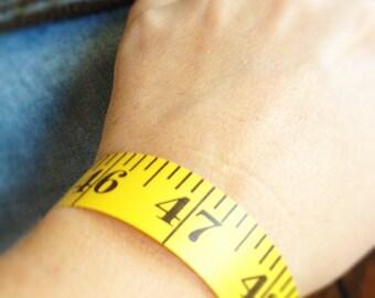 measuring tape bracelet