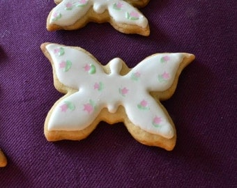 Butterfly Royal Icing Cookies