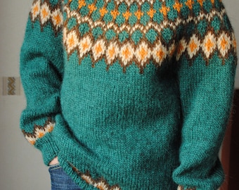 Children Lopapeysa -- lopi wool sweater