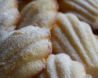 Madeleine 18 tr with orange blossom water or lemon