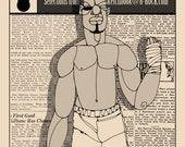 1001 Black Men--The Sport Pages--Zine