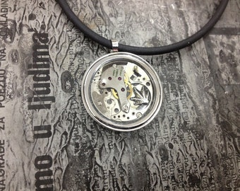 AFRICA Steampunk jewelry  -necklace-