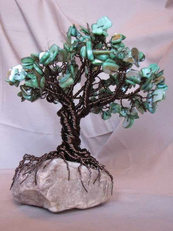 Gemstone wire tree for Colored stones for crafts