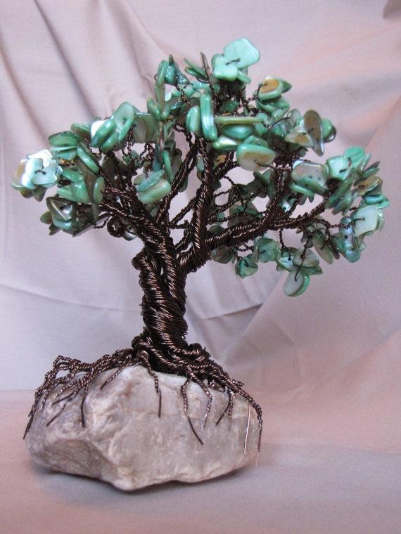 gemstone wire tree