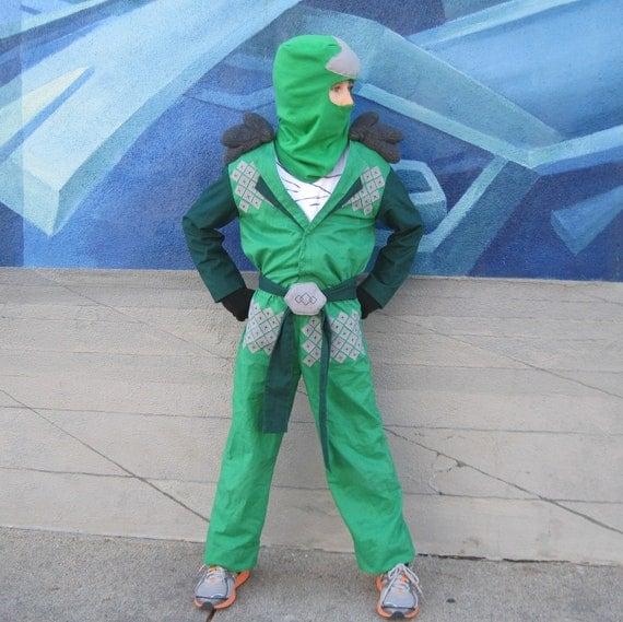 Lego Ninjago Green Ninja Inspired Costume For Boys