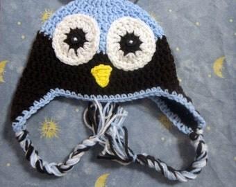 Crochet Baby hats, Owl Hats, Crochet Owl Hat, Boy Hats, Newborn Baby Boy Hats Newborn Photography Props Baby Hats Photo Props Boys