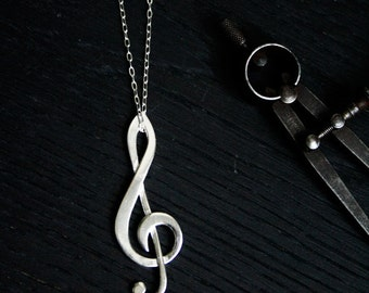 Sol Key necklace in sterling silver