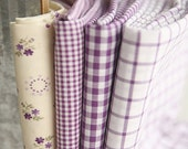 Purple Sage Series Cotton Fabric By the Yard 4 Styles 23710