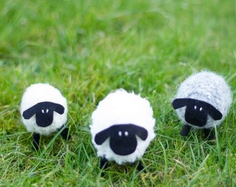 Sheep Hand Knitted Decoration