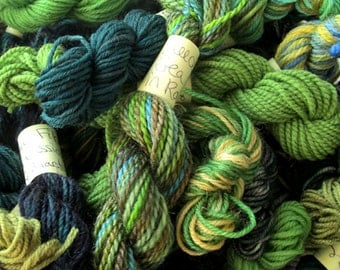 Rainforest - Mini Skeins Fingering Sock Yarn Kit - Mini Mania (12)