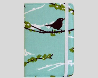 Kindle Cover Hardcover, Kindle Case, eReader, Kobo, Kindle Voyage, Kindle Fire HD 6 7, Kindle Paperwhite, Nook GlowLight Sparrows In Plum