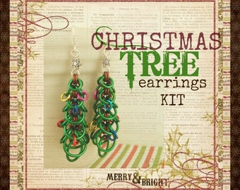 Oh Christmas Tree Earring Kit -  Fun for All Skill levels