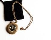 Black Cat Locket- Halloween Art Locket- Black Cat Necklace, Photo Art Locket, Gift for Girls under 30 USD