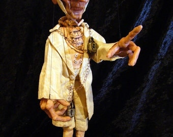 Jacob Marley's Ghost Marionette (Made to Order)