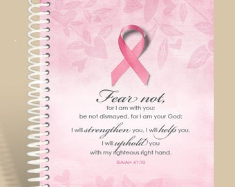 Breast Cancer Awareness Personalized Prayer Journal