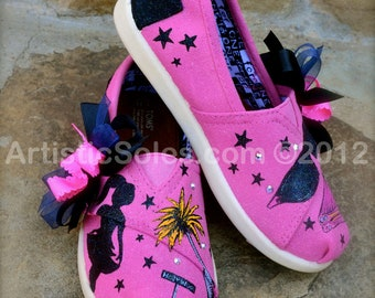 Miss Hollywood Custom TOMS Shoes - Tiny TOMS