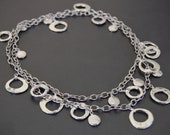 Silver Statement Necklace - MADISON II