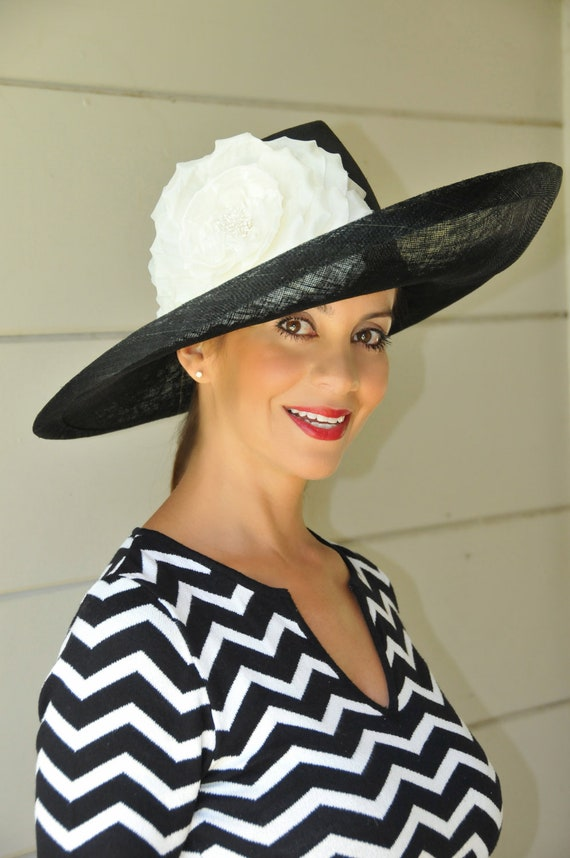 673a08549d5 Escher Black And White Derby Hat Can Be Made In Other