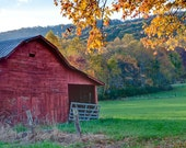 "12Hx18 Fine Art ""Autumn Barn"""