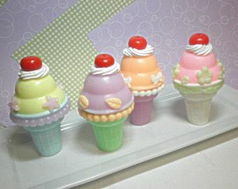 Ice Cream Cone Soaps