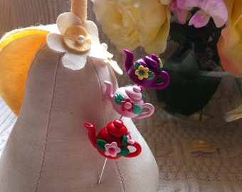 Teapot Pin Toppers