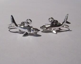 Gorgeous Geekery Shark Earrings