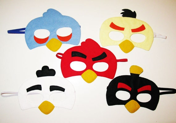 Angry Bird Mask Template. Angry Bird Mask Template images - MTM