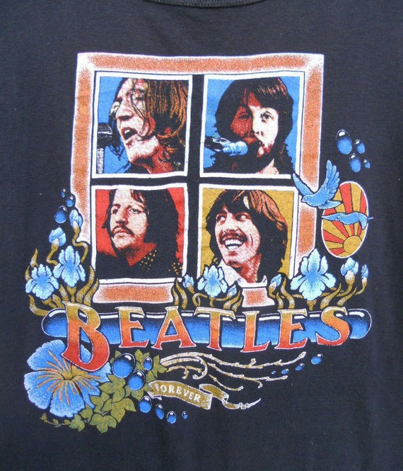 Vintage 70s BEATLES Forever T-Shirt