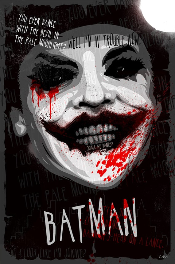 Movie Poster The Joker Batman