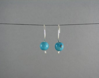 Turquoise Earrings ECO FRIENDLY Acai Jewelry