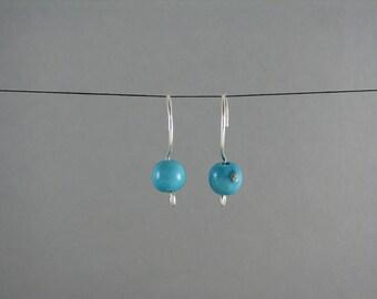 Turquoise Earrings ECO FRIENDLY Acai Jewelry