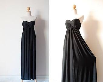 Prom Dress, Black Prom Dress, Bridesmaid Dresses