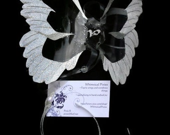 Newborn Angel Wings- Infant Photography Prop or Baby Angel Costume, Made to Order