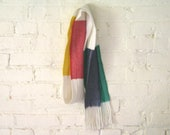 Wool Scarf - Camp Stripes - Glacier National Park - Hudson Bay