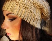 ALL SIZES/COLORS Slouchy Basket Weave Beanie