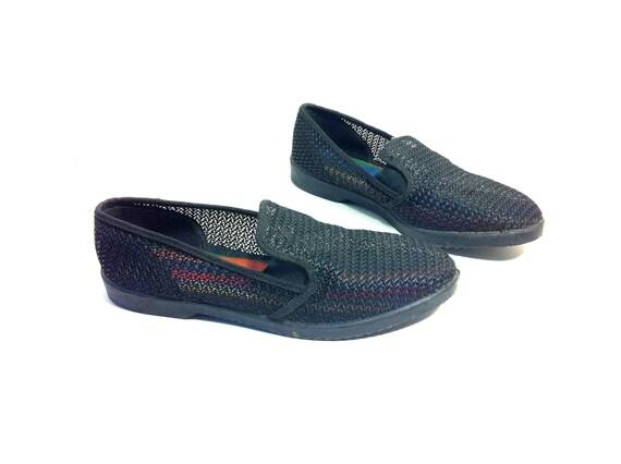 Mesh Espadrille Flats 8 - Open Weave Sneakers 8 - Flats 8