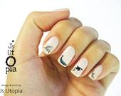 Marine Mammal Nail Sticker
